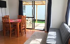 two-bedroom motel unit