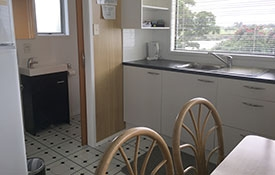 kitchen and dining are of Unit 5