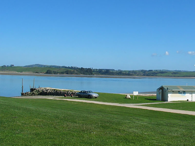 great spot for fishing and scallop-gathering