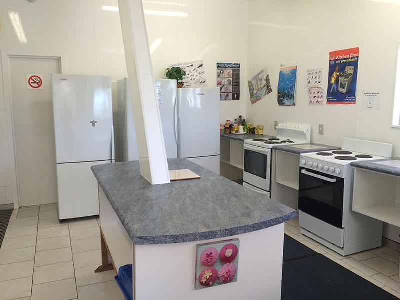 clean camp facilities