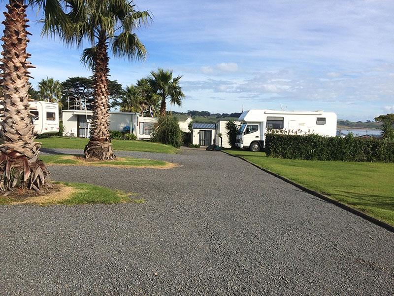 Clarks Beach campsites