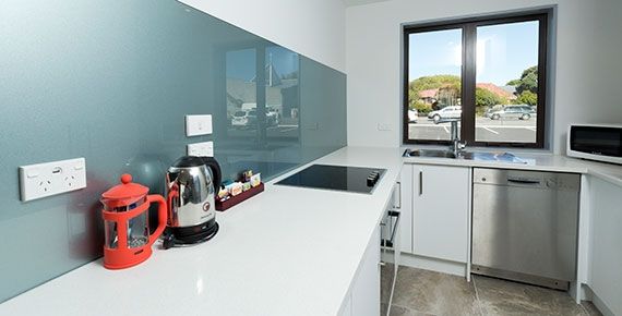full kitchen with latest appliances