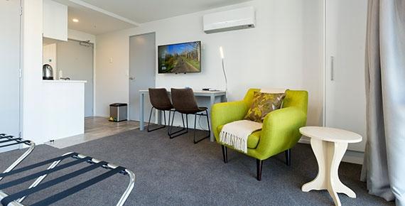 flatscreen Smart TV in the lounge