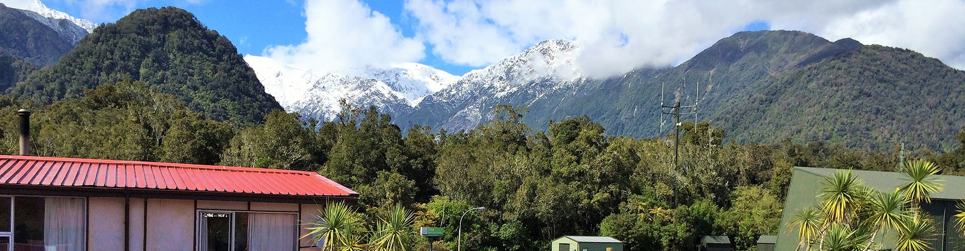 Chateau Backpackers & Motels in Franz Josef