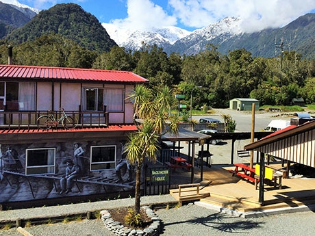affordable accommodation in Franz Josef