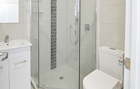 bathroom of Triple luxury room