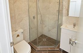 fully tiled luxury bathrooms
