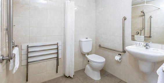 studio access bathroom