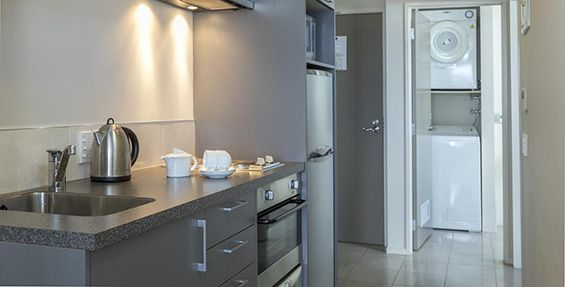 studio access kitchen