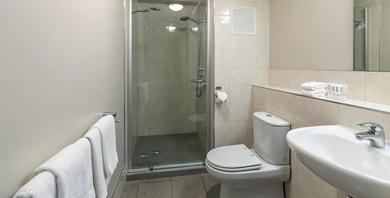 executive studio bathroom