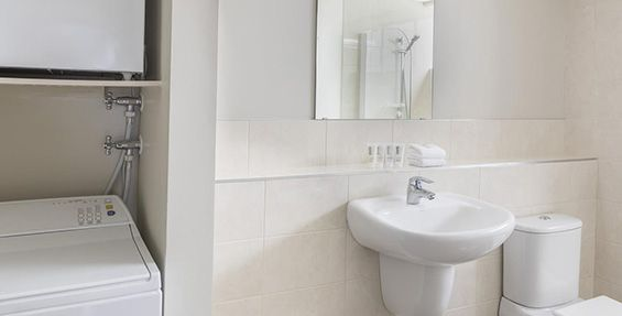 1-bedroom pet bathroom