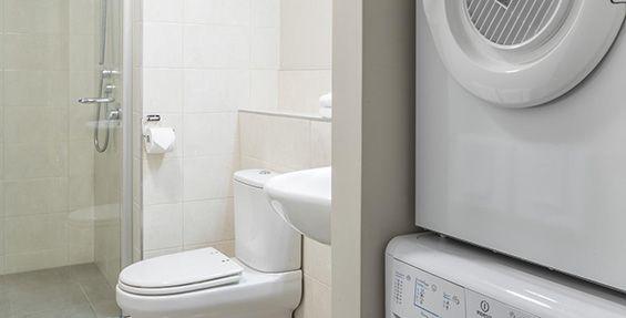 2-bedroom executive laundry