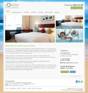 Hosted Website Template RJ15