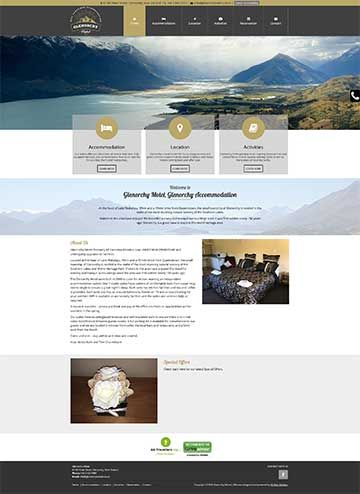 Hosted Website Template HT16