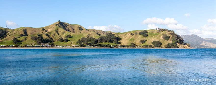 enjoy stunning views while your stay at Otautu Bay Farm Camp in Coromandel
