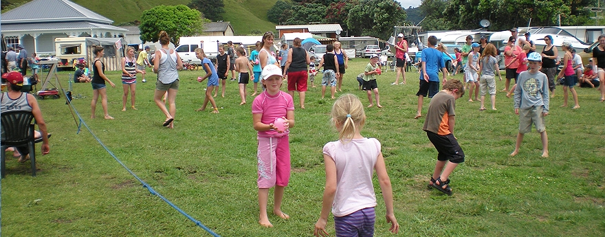 plenty of things to do at Otautu Bay Farm Camp