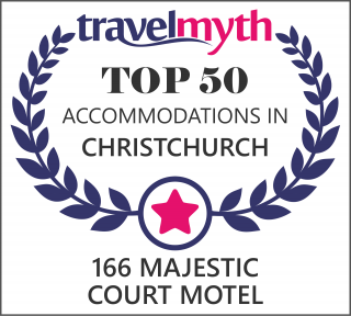 Travel Myth Top 50 Accommodations in Christchurch