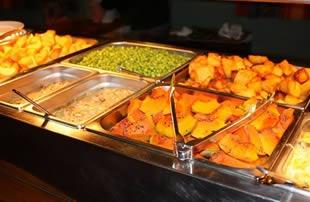 sunday buffet and bistro-style meals 6 days a week