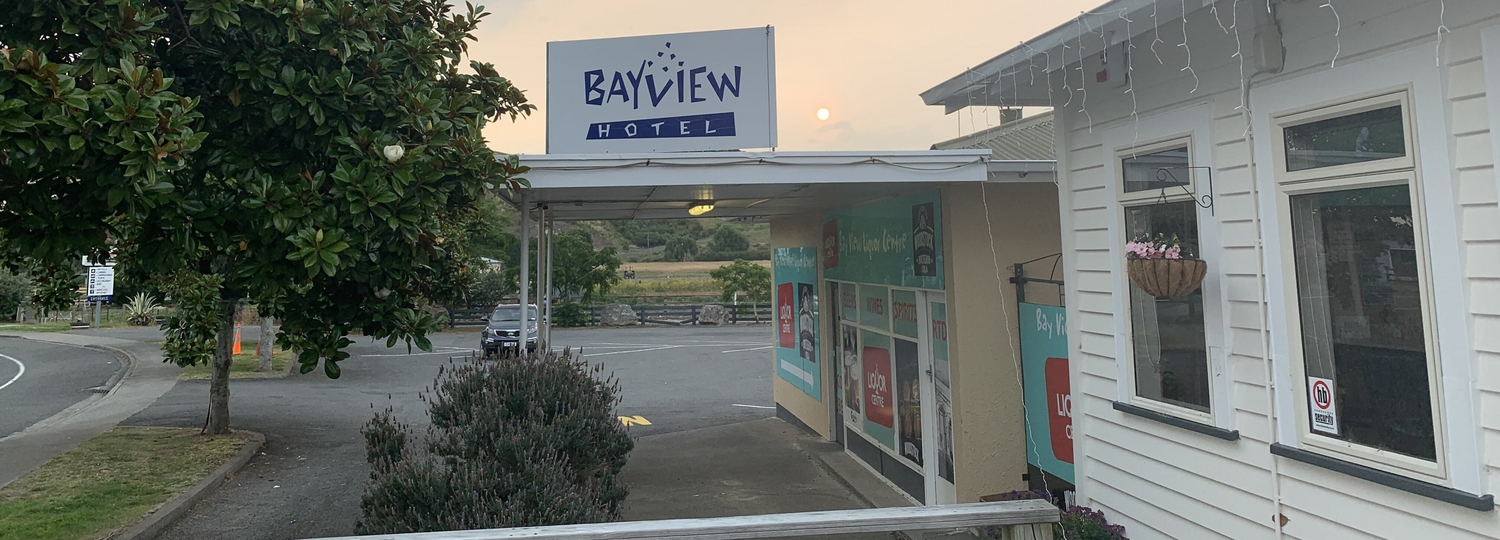 Bay View Hotel and Holiday Park Location