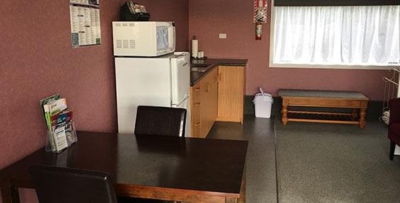 studio unit #2 living area