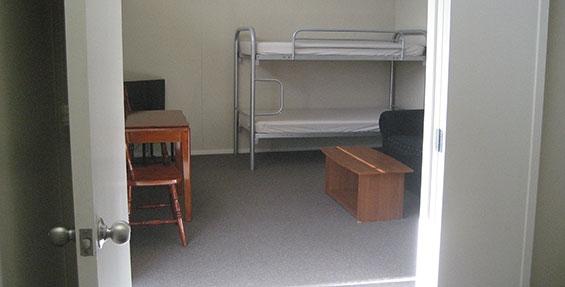 2-room cabin - bunk beds
