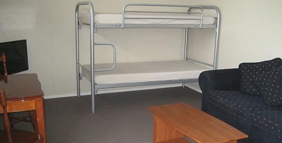 2-room cabin - bunks