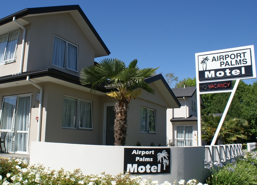 Airport Palms Motel in Christchurch