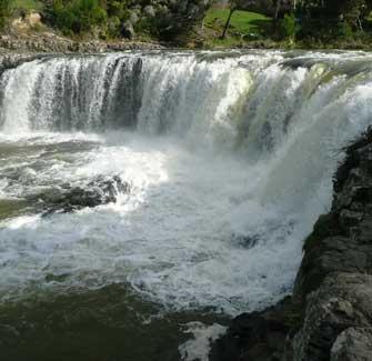 Image of the Haruru Falls
