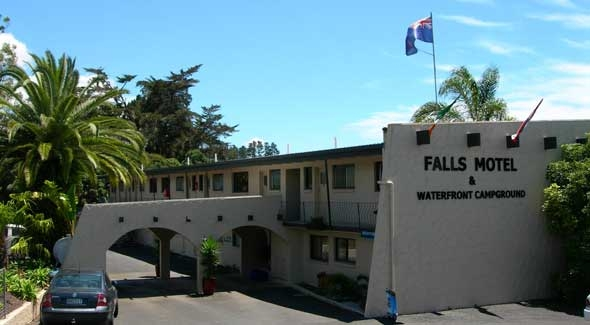 Image of the Falls Motel & Waterfront Campground in Paihia