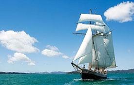 R. Tucker Thompson - afternoon sail