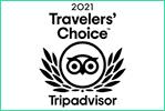 Winner Traveler's Choice 2021